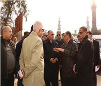 محافظ القاهرة يتفقد أعمال تطوير ميدان «السيدة عائشة»