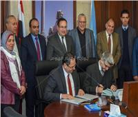 محافظ الإسكندرية يشهد توقيع بروتوكول إنشاء 4 مدارس حكومية جديدة