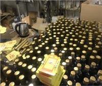 ضبط مصنع للخمور بأوسيم