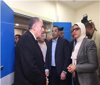 وزيرة الصحة تتفقد أعمال التشطيبات النهائية لتطوير ورفع كفاءة مستشفى أبوخليفة