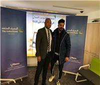 لاعب منتخب مصر يفوز بجائزة شهادة المليونير من المصرف المتحد