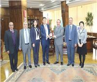 جامعة طنطا تبحث التعاون مع كلية تيانجن الصينية
