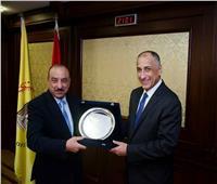 طارق عامر يكرم بنك التنمية الصناعية