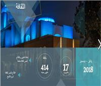 إنجازات 2018   24 مشروعًا في مجال «الثقافة»