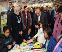 وزير الأوقاف: زيارة «السيسي» لجناح الشئون الإسلامية يدعم الفكر الوسطي