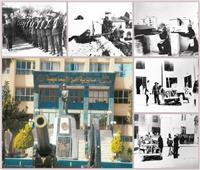 صور  «بوابة أخبار اليوم» في أرض معركة الشرطة والإنجليز بالإسماعيلية خلال 25 يناير 1952