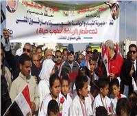 محافظ جنوب سيناء يقود ماراثون رياضي للاحتفال بأعياد الشرطة