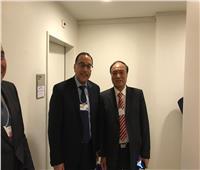 مصطفى مدبولي يلتقي أمين عام الاتحاد الدولي للاتصالات على هامش منتدى دافوس