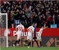 شاهد| برشلونة يسقط أمام إشبيلية بهدفين في كأس إسبانيا