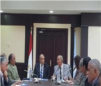 محافظ البحر الأحمر يستقبل وزير الزراعة واستصلاح الأراضي