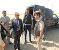 محافظ المنيا يوجه بتطهير ترعة جنابية طوخ الشرقية