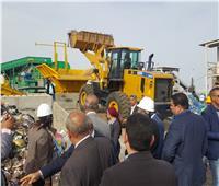 محافظ البحر الأحمر يفتتح مصنع فرز وتدوير المخلفات الصلبة بالغردقة