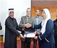 «اتحاد الصحفيين» يكرم الطاقم الطبي بمستشفى العريش