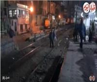 فيديو| «مزلقان الموت» خطر يهدد حياة السوهاجية في قلب العاصمة