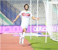محمود علاء يتصدر هدافي الدوري بعد هدفه في بيراميدز
