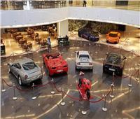 بالصور  معرض للسيارات الإيطالية الفاخرة بالكويت