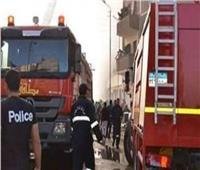 إخماد حريق داخل عقار في قصر النيل
