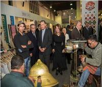 وزراء التموين والنقل والتضامن يتفقدون معرض «ديارنا»