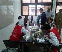 قافلة مصر الخير توقع الكشف على 1145 حالة بالشيخ زويد