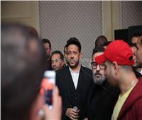 صور| حماقي في أول حفل بعد إطلاق ألبومه الجديد