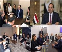 وسط ثلوج دافوس| مصر تنجح في بناء اقتصاد تنافسي بشهادة كبرى الشركات العالمية