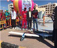 نادي طيران البحر الأحمر يحتفل بيومه العالمي بمطار الغردقة الدولي