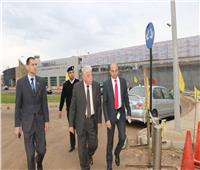 محافظ جنوب سيناء يتفقد أعمال تطوير مطار «شرم الشيخ» الدولي