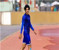 محمد هاني يكتفي بالتدريبات البدنية الخفيفة ويغادر المران