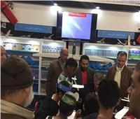 ورش عمل لنشر الثقافة الجوية بجناح الطيران المدني في معرض الكتاب