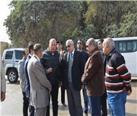 محافظ الجيزة يتفقد 9 قرى بمنشأة القناطر للوقوف على مستوى النظافة