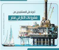 إنفوجراف| المستفيدون من مشروعات الغاز في مصر