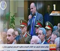 «رئيس تحرير الأخبار» يسأل «ماكرون» عن «السترات الصفراء».. وضيف مصر: يشكره