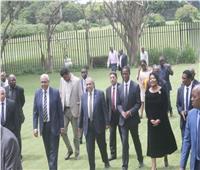 صور| وزير الزراعة يبحث مع رئيس زامبيا التعاون المشترك