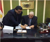 خالد فودة يعتمد نتيجة الشهادة الإعدادية بجنوب سيناء بنسبة نجاح 81.7 %