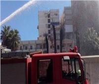 بعد تجديده بـ 2 مليون جنية .. حريق هائل يلتهم مكتب بريد درنكة بأسيوط