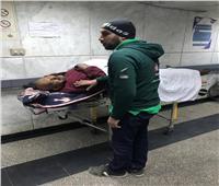 التضامن: فرق الشارع تنقل أحد المواطنين بلا مأوى لمستشفى الحميات