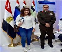 فاطمة ناعوت تشيد بجناح وزارتي الدفاع والداخلية في معرض الكتاب
