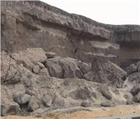 فيديو| رئيس حي منشأة ناصر: منطقة تصدع الصخرة خالية من السكان