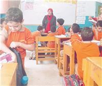 «هاجر».. أول مدرسة من ذوي الإعاقة: الأطفال بيحبوني.. وحلمى أكون «وزيرة»