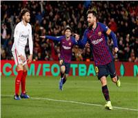 فيديو| برشلونة يتأهل لنصف نهائي كأس إسبانيا بـ«سداسية» في إشبيلية
