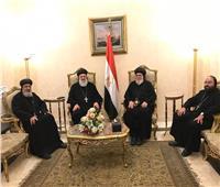 بطريرك الكنيسة السريانية يغادر مصر بعد زيارة استغرقت 3 أيام