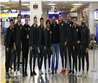 لاعبو الزمالك يصلون مطار القاهرة استعدادًا للسفر إلى نيروبي