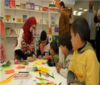 ورش فنية لاكتشاف مواهب الأطفال بمعرض الكتاب