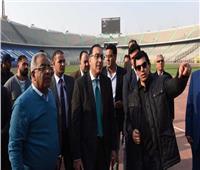 رئيس الوزراء يتابع مع وزير الرياضة آخر الاستعدادات الخاصة بترتيبات استضافة بطولة أفريقيا ٢٠١٩