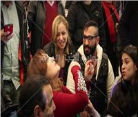 بالفيديو.. ريم البارودي في كواليس «خطيب مراتي»