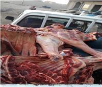 ضبط جزار وبحوزته 458 كجم لحوم بلدية غير صالحة للاستهلاك الآدمي بديروط