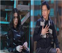 صور| خالد عادل وملكة جمال مصر للموضة ينتهيان من تصوير أغنية «مش بالكلام»