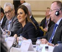 سحر نصر تعرض علي الجانب البلغاري الفرص الاستثمارية بالمشروعات القومية