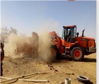 استرداد 2180 فدان أراضي أملاك دولة بالواحات البحرية في الجيزة