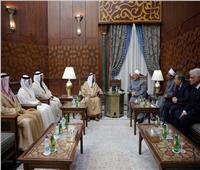 صور| حاكم الشارقة: التعليم الأزهري طوق النجاة الوحيد من الإرهاب